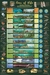 Eras of Life Geological Time Chart Poster