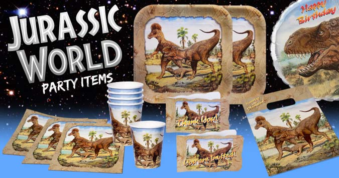 Hunting with Dinosaurs Party Supplies