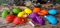 SPECIAL OFFER: T-rex Candy Dinosaur Egg Hunt Dino Heads 12 Eggs
