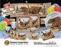 SPECIAL OFFER: Jurassic World Deluxe T-REX Exclusive Tableware, 8 Guests
