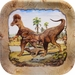 """SPECIAL OFFER Jurassic World Deluxe T-REX Exclusive Beverage Plates, 7"""""""
