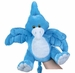 Pteranodon Cuddly Soft Blue Dinosaur Plush Puppet Toy with Sound