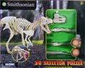 Smithsonian Dino Dig 3D Trex Skeleton Puzzle Kit