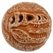 """T-rex Foam Bouncing Ball Fossil Toy Party Favor, 2.5"""""""