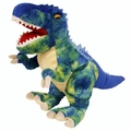Fiesta Blue T-rex Soft Plush Dinosaur Toy, 15 inch