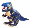 Fiesta Blue Giant T-rex Stuffed Dinosaur with Sound, 43 inch