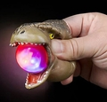 T-rex Light Up Squeeze Dinosaur Head Toy