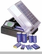 Deluxe Solar Battery Charger with Meter