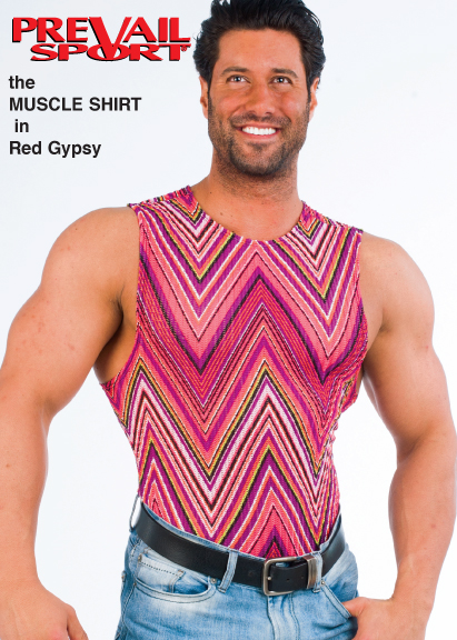 Muscle Shirt - Red Gypsy