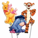 "14"" Winnie the Pooh Air-Filled Shape Balloons"