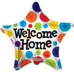 "18"" PR Welcome Home Star Balloon"