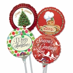 "4"" Christmas Air-Filled Balloons"