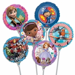 "9"" Licensed Character Air-Filled Balloons"