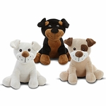 "9"" Sitting Darling Dog Assortment"