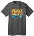 Beast Mode Volleyball Dark Grey T-Shirt