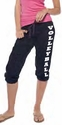 Black Capri Pants - Choice of 22 Sport Imprints - Rear or Leg