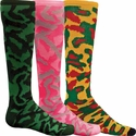 Camouflage Knee High Socks - in 5 Colors