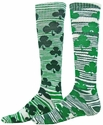 Celtic Shamrock Swirl Knee High Socks - 2 Color Options