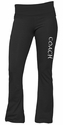 Dark Heather Grey Yoga Pants - Choice of 16 Sport Script Imprints on Leg or Rear
