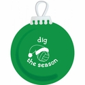 Dig the Season Volleyball Tree Ornament - in 2 Colors