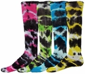 Eclipse Tie-Dye Tube Socks - in 6 Colors