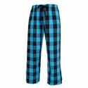 Electric Blue Flannel Tie-Cord Pants - Choice of 22 Sport Imprints on Leg or Rear