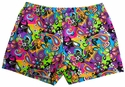 Flower Power Spandex Shorts