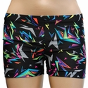 Geometric Flash Spandex Shorts