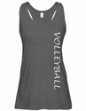 Grey Heather Racerback Tank Top w/ 16 Sport Prints