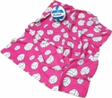 Hot Pink Fleece Volleyball Blankets