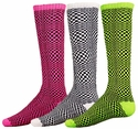 Illusion Pattern Knee High Socks - in 3 Colors