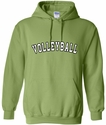Kiwi Green Team Sport Printed Hooded Sweatshirt in 22 Sports