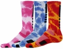 Legend Max Tie Dye Crew Socks - in 7 Colors
