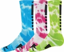 Maxim Tie Dye Crew Socks - in 3 Neon Colors