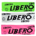 Libero Neon Spandex Headband w/ Black Lettering - in 6 Colors