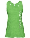 Lime Heather Racerback Tank Top w/ 16 Sport Prints