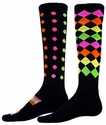 Marble & Jewel Zany Perfomance Knee High Socks
