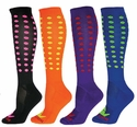 Mini Dots Zany Performance Knee High Socks - in 4 Colors