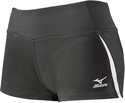 Mizuno Pro Panelled Spandex Shorts - in Black & White