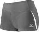 Mizuno Pro Panelled Spandex Shorts - in Grey & White