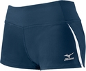 Mizuno Pro Panelled Spandex Shorts - in Navy & White