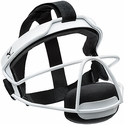 Mizuno Fastpitch Softball White Steel Fielder's Mask in Youth & Adult