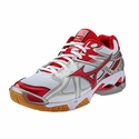Mizuno Wave Bolt 4 Women's White & Red Volleyball Shoes