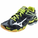Mizuno Wave Lightning RX3 Womens Black & Lime Volleyball Shoe