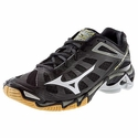 Mizuno Wave Lightning RX3 Womens Black & Silver Volleyball Shoe