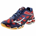 Mizuno Wave Lightning RX3 Women's Navy & Red Volleyball Shoe