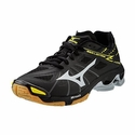 Mizuno Wave Lightning Z Men's Black & Silver Volleyball Shoes