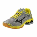 Mizuno Wave Lightning Z Women's Grey & Yellow Volleyball Shoes
