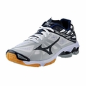 Mizuno Wave Lightning Z Women's White & Navy Volleyball Shoes
