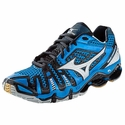 Mizuno Wave Tornado 8 Men's Blue & Silver Volleyball Shoes